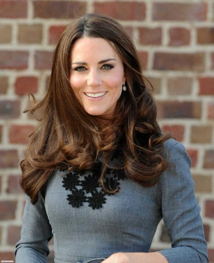 Un Primo Piano Di Kate Middleton