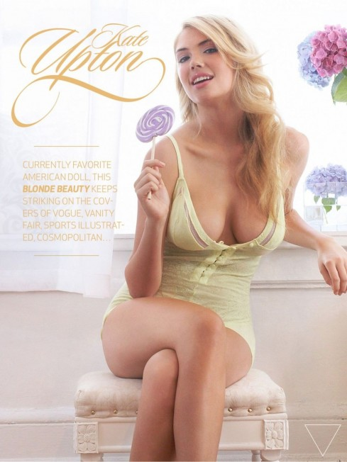 Kate Upton In The Men Magazine June Issue