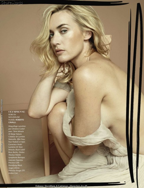 Kate Winslet Figaro Madame France Sexy