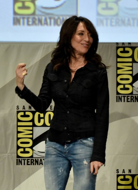 Katey Sagal At Sons Of Anarchy Panel At Comic Con In San Diego