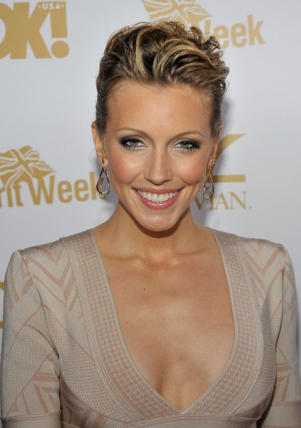 Ok Magazine And Britweek Oscar Celebration Katie Cassidy