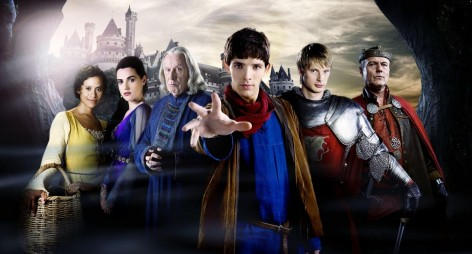 Picture Of Anthony Head Angel Coulby Katie Mcgrath Colin Morgan And Bradley James In Merlin Large Picture Bradley James