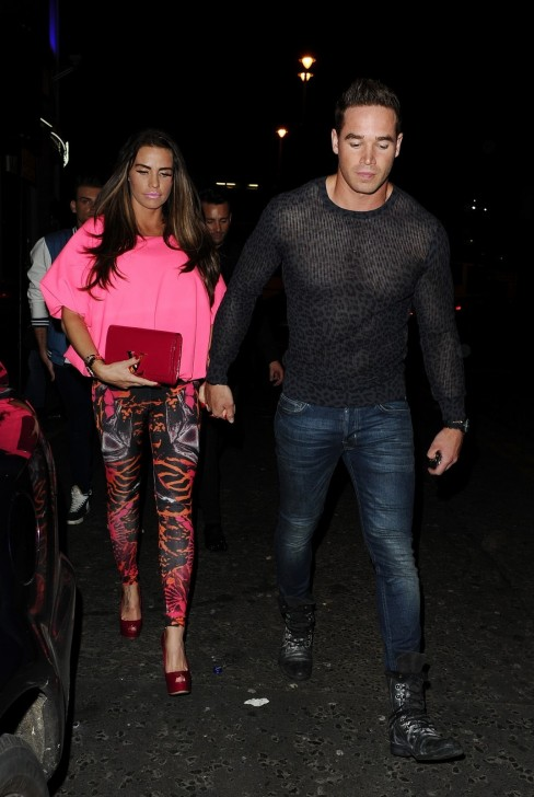 Katie Price Clubbing In London May