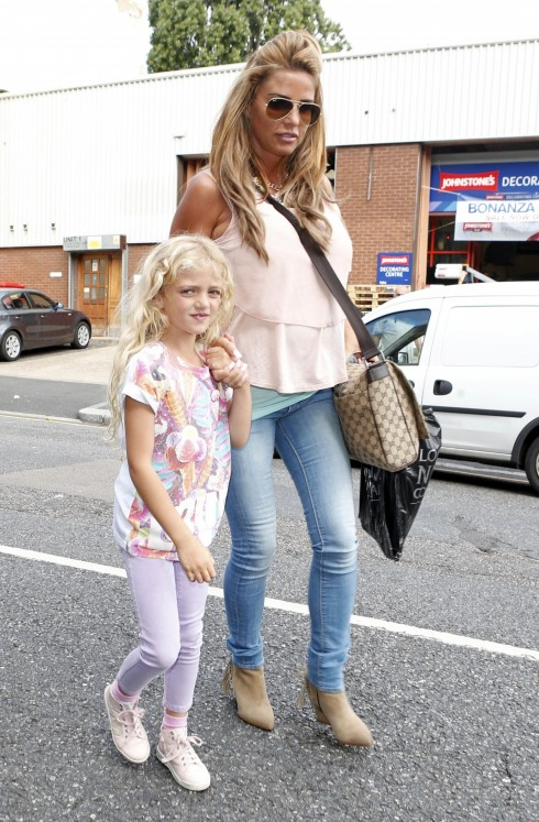 Katie Price Out And About London Britain Jul