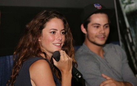 Kaya Scodelario At The Maze Runner Miami At Regal South Beach Beach