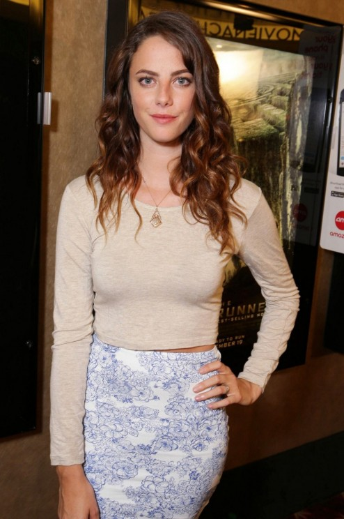Kaya Scodelario At The Maze Runner Screening In Los Angeles