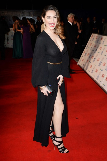 Kelly Brook National Television Awards In London Tv Awards