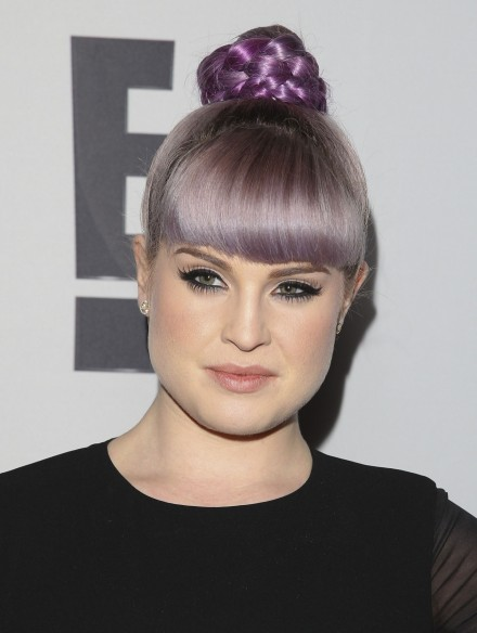Kelly Osbourne Braided Bun Hairstyle Main