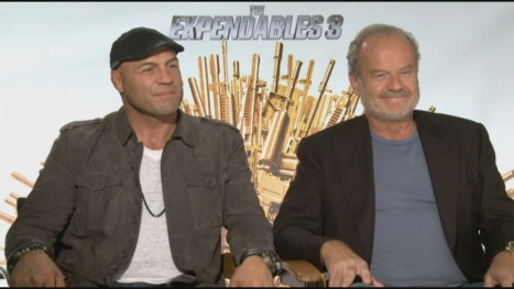 Manny The Movie Guy Expendables Interview Randy Couture Kelsey Grammer Movies