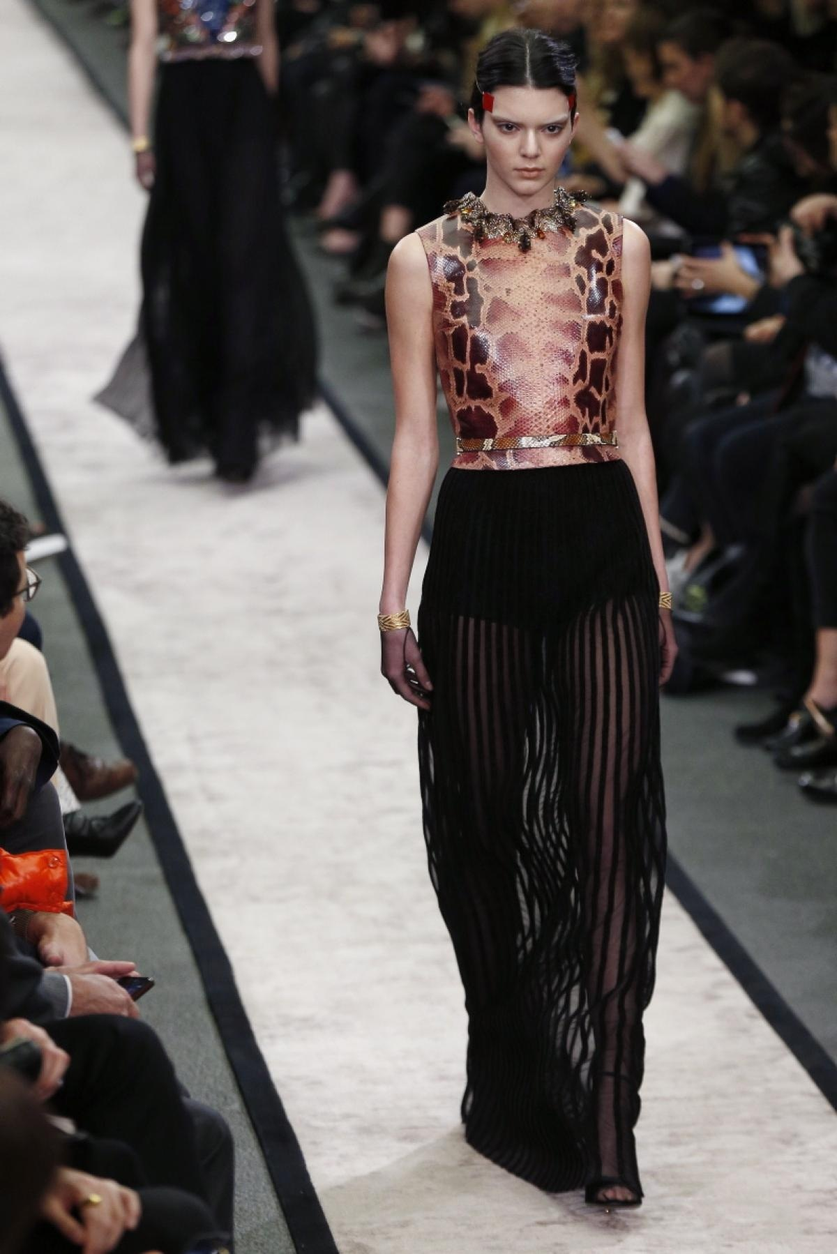 Kendall Jenner Givenchy Fall Show