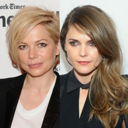Side Hair Part Hair Trend Michelle Willaims Keri Russell Main