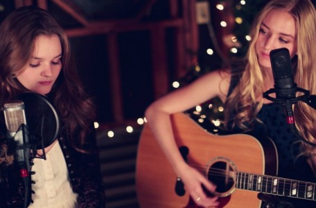 God Bless Ye Merry Gentlemen Carol Of The Bells Mashup By Kerris Dorsey Justine Dorsey