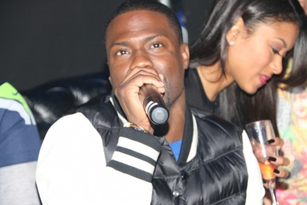 Kevin Hart Hosts The Big Game Myx Super Bowl At Stage Nyc