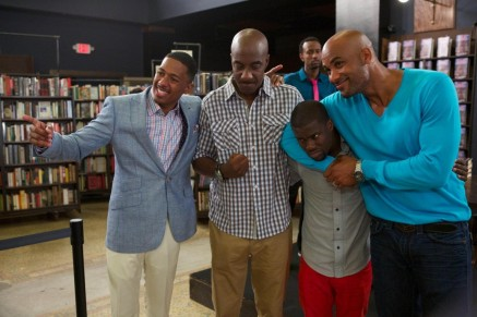 Nick Cannon Kevin Hart Boris Kodjoe And J Smoove In Real Husbands Of Hollywood Large Picture Wife
