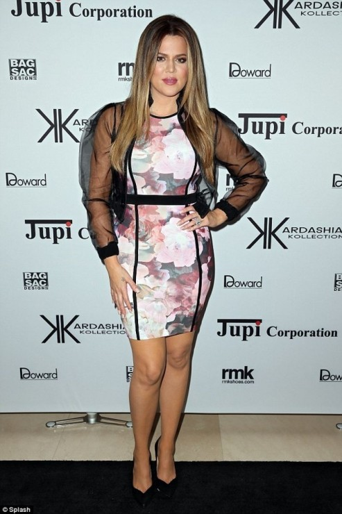 Khloe Kardashian Kardashian Kollection Launch Sydney November
