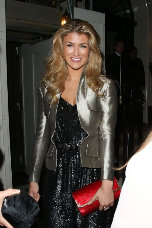 Amy Willerton And Kimberley Garner Leaving Arts Club London January