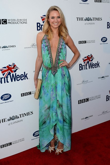 Kimberley Garner Th Britweek Launch Party La Made In Chelsea