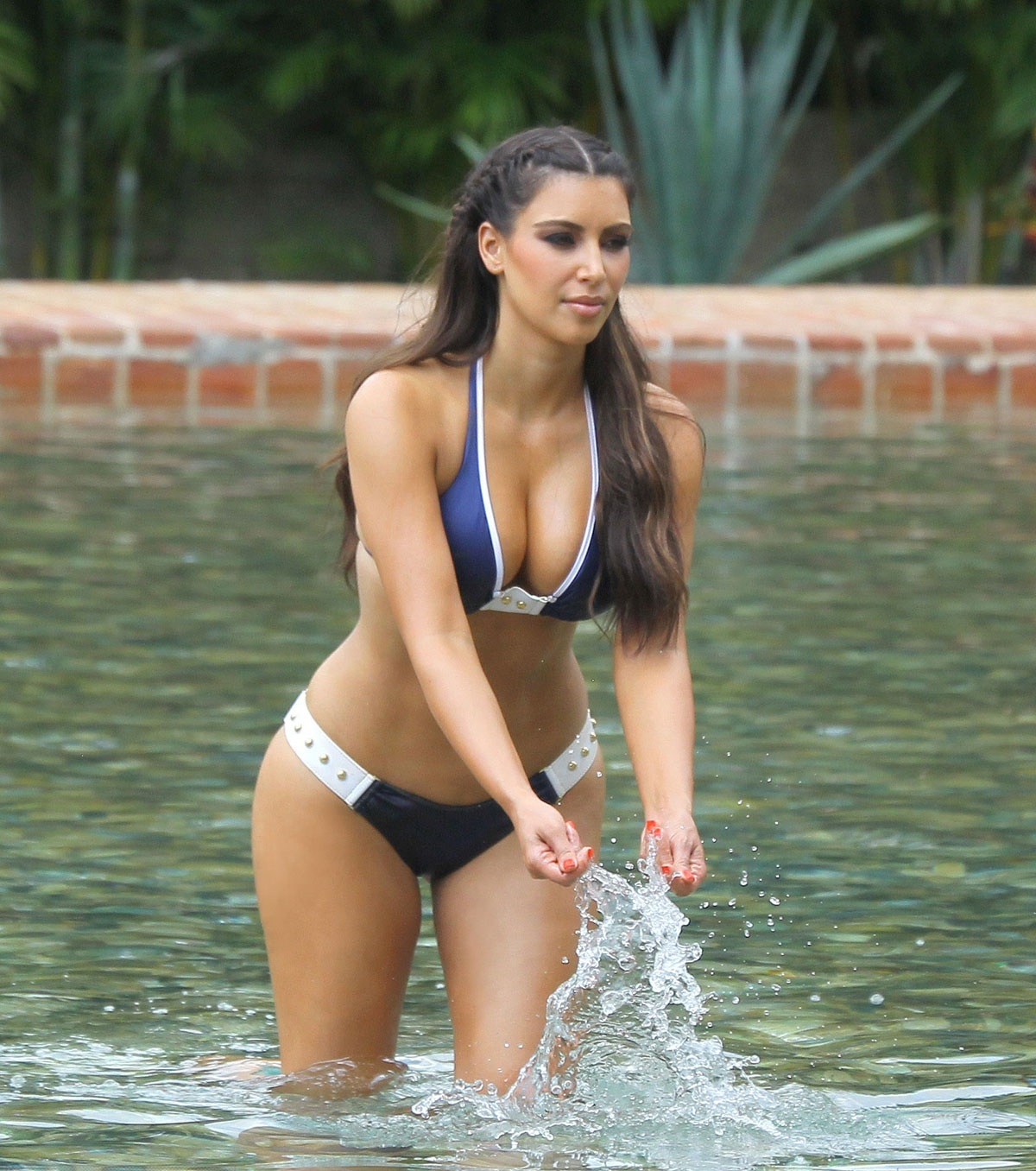 Kim Kardashian In Bikini At La Romana In Dominican Republic Bikini