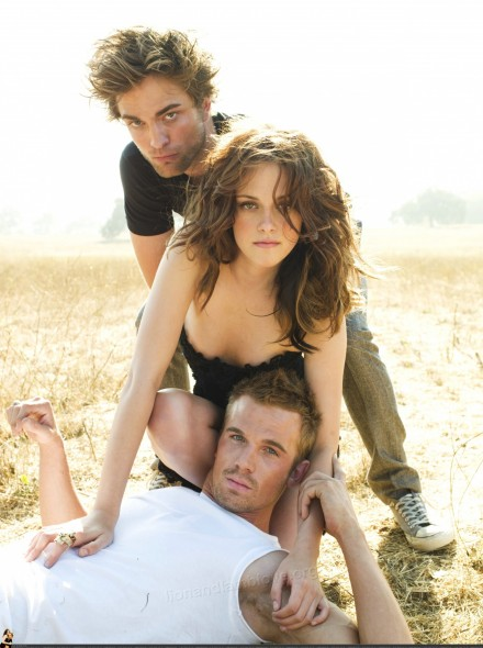 Robert Pattinson Kristen Stewart Cam Gigandet Vanity And Robert Pattinson