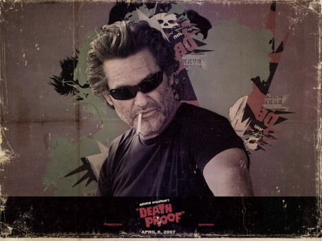 Kurt Russell In Grindhouse Wallpaper