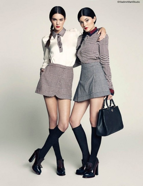Kendall And Kylie Jenner For Marie Claire Mexico March