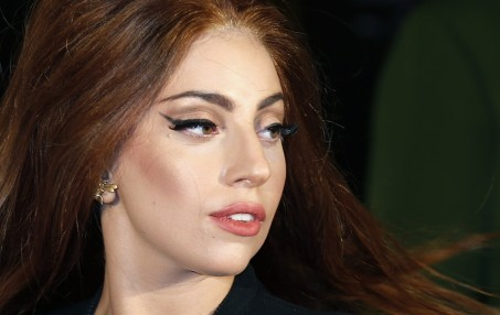 Lady Gaga Arrives For The Uk Launch Of Her New Fragrance Fame Outside Harrods In London October