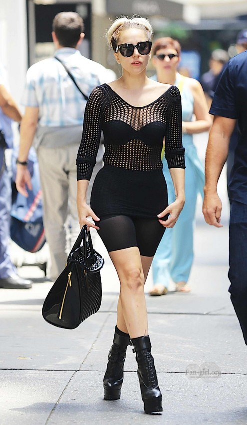 Lady Gaga In Stylish Outfit In Nyc Outfits