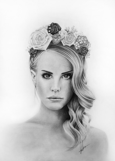 Lana Del Rey Drawing