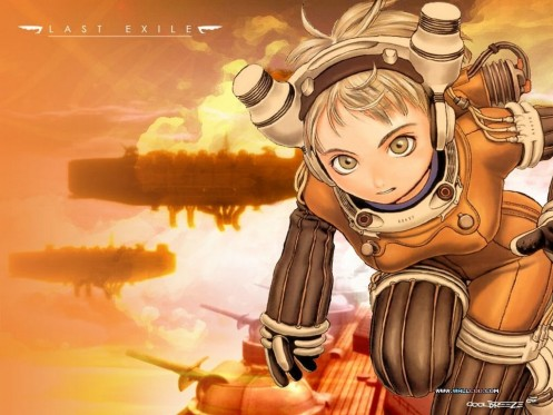 Last Exile Anime Wallpaper