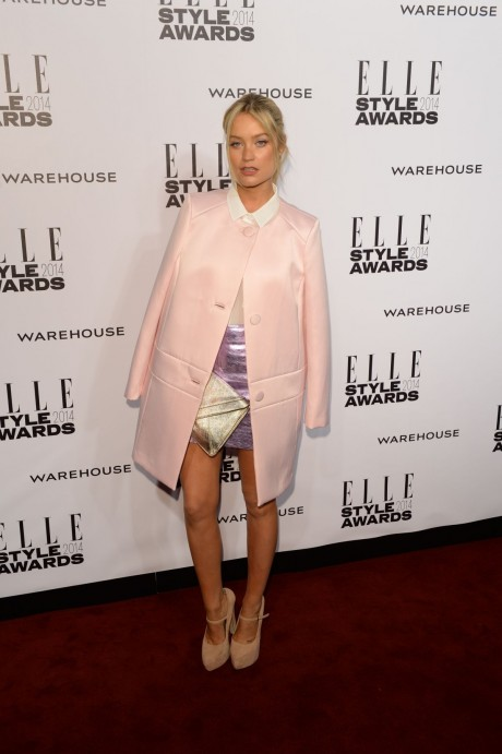 Laura Whitmore At Elle Style Awards In London