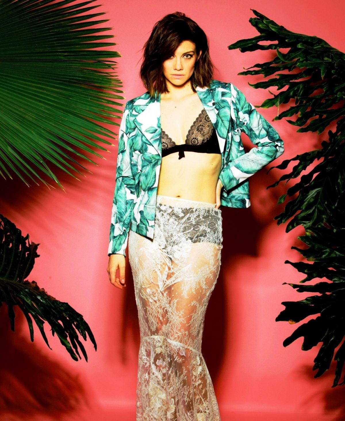 Lauren Cohan In Stndrd Magazine Issue