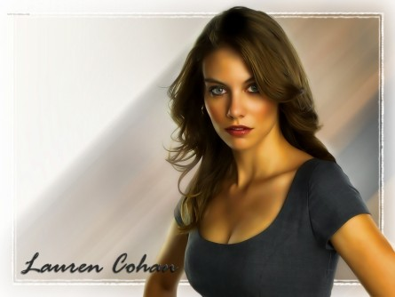 Lauren Cohan Wallpaper Supernatural