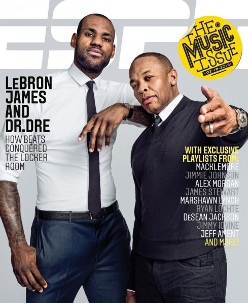 Espn Magazine Music Lebron James Dr Dre Body