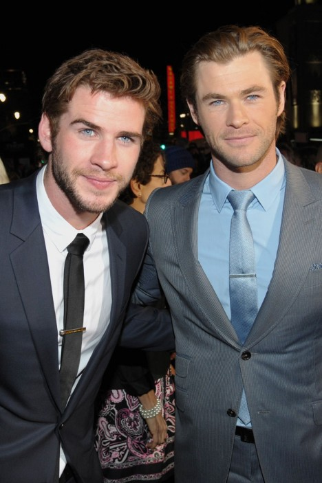 Liam Chris Hemsworth Liam And Chris Hemsworth