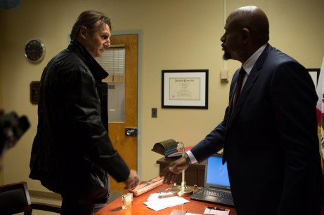 Liam Neeson And Forest Whitaker In Taken Movie Image