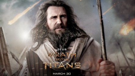 Liam Neeson In Wrath Of The Titans