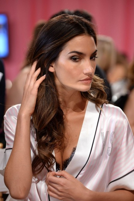 Lily Aldridge At Backstage Of Victoria Secret Fashion Show In New York Victoria Secret
