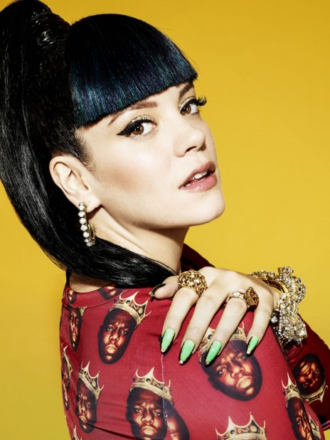 Lily Allen Nme Photoshoot
