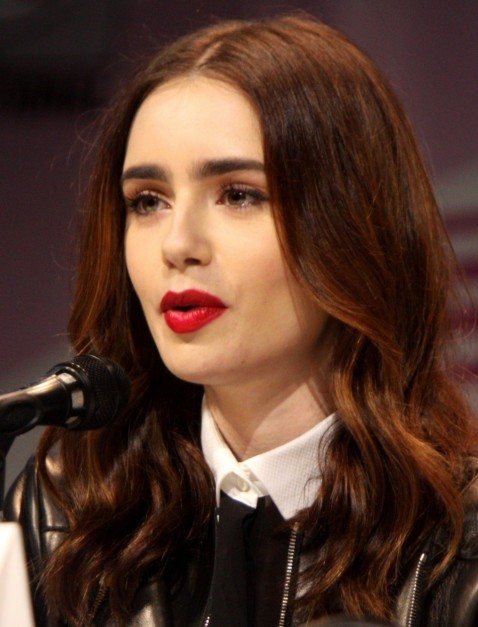 Lily Collins Eyebrows