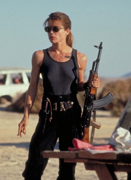 Linda Hamilton Terminator Judgement Day Wallpaper Other Wallpaper