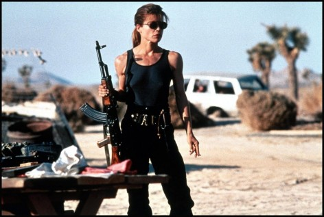 Terminator Linda Hamilton Sarah Connor Terminator Plot Revealed Emilia Clarke The Genisys Of Sarah Connor Hot