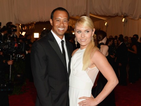 Tiger Woods And Lindsey Vonn Made Their Red Carpet Debut At The Met Gala