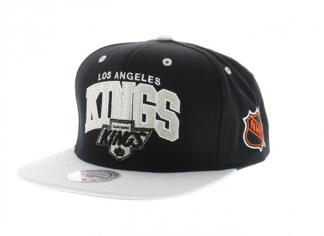 Los Angeles Kings Nhl Team Official Colors Snapback Mitchell And Ness