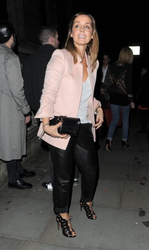 Louise Redknapp At Matthew Williamson Fashion Show In London