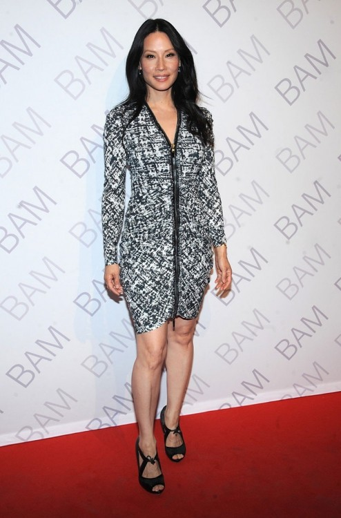 Lucy Liu At Bam Ignite Gala In New York