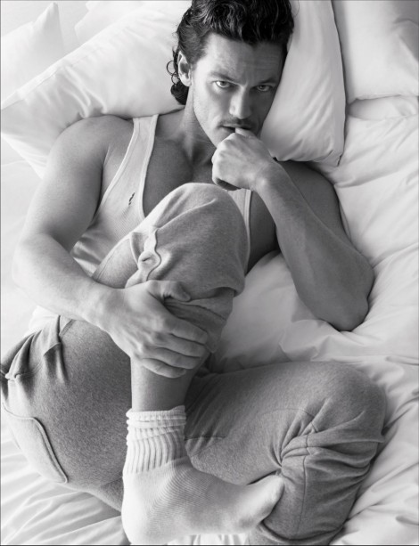 Luke Evans Get In Bed With By Magazine