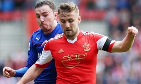Luke Shaw In Action For