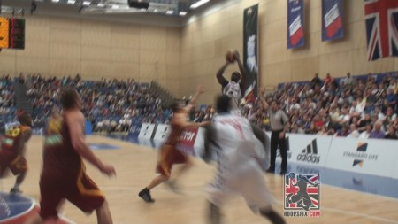 Luol Deng Sends It To Ot Gb Vs Macedonia