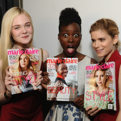 Elle Fanning Marie Claire Fresh Faces Issue Beach