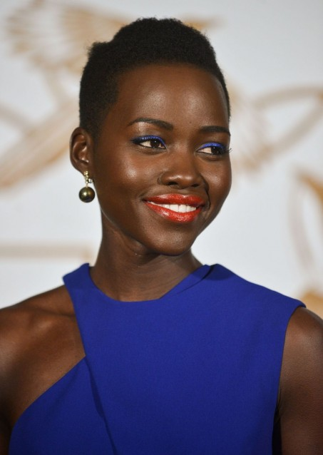 Lupita Nyong Lovegold Honors Academy Nominee In West Hollywood Feb Wallpaper